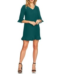 CeCe Kate Ruffle Shift Dress
