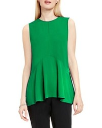 Petite sleeveless ruffle front top medium 751363