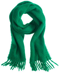 J.Crew Brushed Italian Wool Scarf In Solid