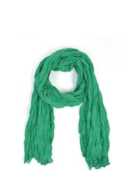 TheDapperTie Green 100% Viscose Scarf Ls4310