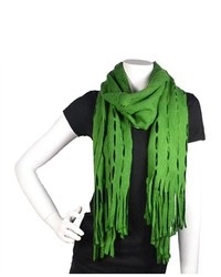 TheDapperTie Green Fashion Winter Knit Scarf Scarf C1