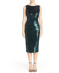 Audrey sequin body con dress medium 357326