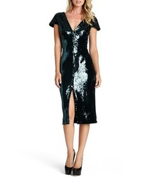 Elizabeth sequin midi dress medium 357328