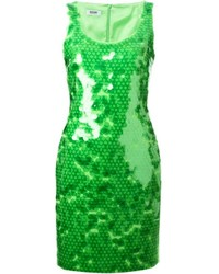 Moschino Cheap & Chic Paillette Embellished Dress