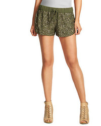 GUESS Geo Sequined Shorts