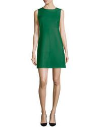 Diane von Furstenberg Carrie Sleeveless Sheath Dress Emerald