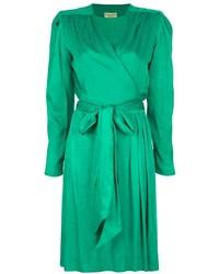 Christian Dior Vintage Wrap Style Dress