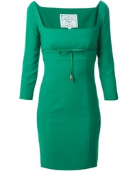Dsquared2 Tie Ribbon Fitted Dress