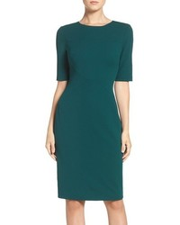 Scuba sheath dress medium 793458