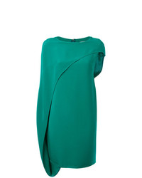 Gianluca Capannolo Asymmetric Draped Dress