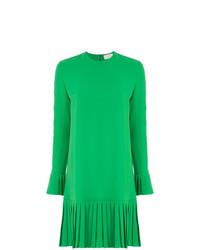 Long sleeved pleated skirt dress medium 7638947