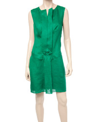 Max Studio Linen Sleeveless Dress
