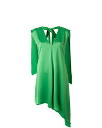 MSGM Sleeveless Asymmetric Dress