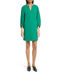 Tibi Stretch Crepe Shift Dress