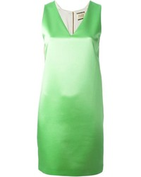 Fausto Puglisi V Neck Shift Dress