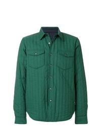 Aspesi Checked Padded Shirt Jacket