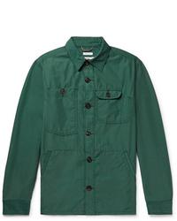 Freemans Sporting Club Cotton And Nylon Blend Overshirt