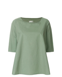 Cropped sleeves blouse medium 7736370