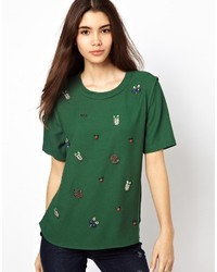 Max C Top With Embellisht