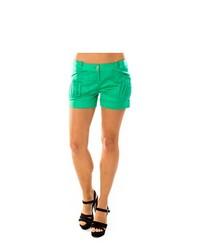 Byblos Shorts A3b61547 100 Green Size 38