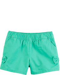 Carter's Carters Solid Bow Detail Pull On Shorts Toddler Girl 2t 5t