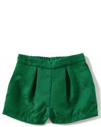 Gb Girls Little Girls 2t 6x Floral Jacquard Shorts