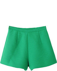 Choies Green Loose A Line Shorts