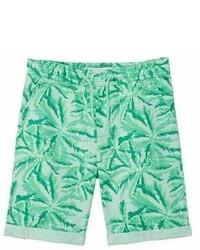 MANGO Kids Kids Printed Cotton Bermuda Shorts