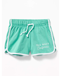 Old Navy Relaxed Dolphin Hem Shorts For Girls