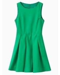Green skater dress original 1422933