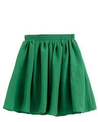 Chicnova green chiffon skater skirt medium 113665