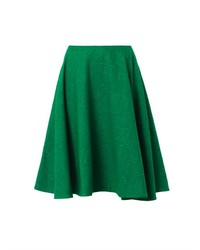 Jw anderson speckled wool a line skirt medium 113666