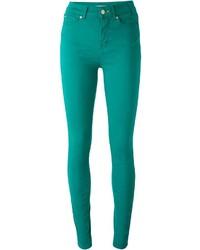 Paul Smith Paul By High Waist Skinny Trousers