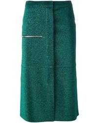 Golden Goose Deluxe Brand Glitter Midi Skirt
