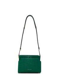 Marni Green Snake Trunk Reverse Bag