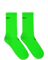 Misbhv Green Logo Socks
