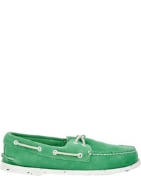 Sperry Authentic Original Boat Shoes Green