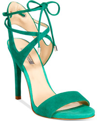 GUESS Christa Two Piece Lace Up Dress Sandals