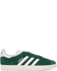 adidas Originals Green Gazelle Sneakers
