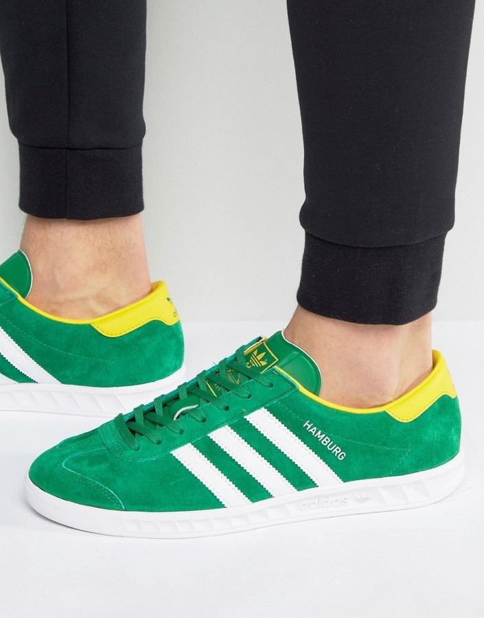 Originals Hamburg Sneakers In Green Bb5299