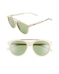 Gucci 54mm Round Sunglasses