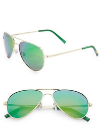 Polaroid 60mm Aviator Sunglasses
