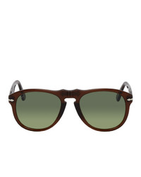A.P.C. Brown Persol Edition 649 Sunglasses
