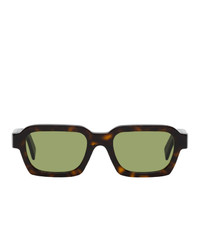 RetroSuperFuture Caro Rectangle Sunglasses