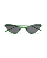 Poppy Lissiman Chi Chi Cat Eye Metal Sunglasses