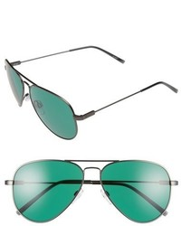 Electric av1 58mm sunglasses matte gunmetal green medium 453420
