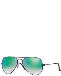 Ray-Ban Flash Lenses Aviator Sunglasses