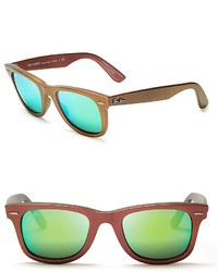 Ray-Ban Iridescent Mirrored Wayfarer Sunglasses The Wayfarer Summer Collection