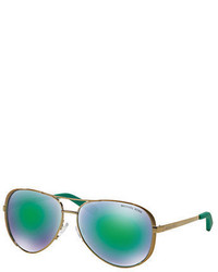 Michael Kors Michl Kors Chelsea Aviator Sunglasses