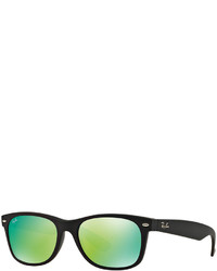 Ray-Ban New Wayfarer Mirrored Sunglasses Rb2132 52